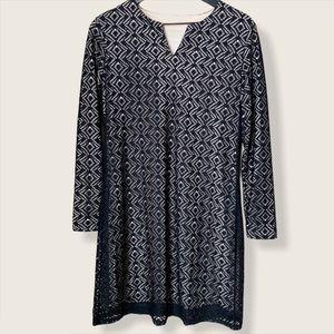 Coolibar UPF 50+ Long Sleeve Lace Tunic Dress